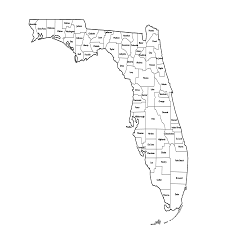 Florida Maps by Florida Map By County U2013 Florida Maps