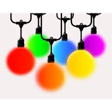 Apple String Lights by Battery Outdoor Specialty Lighting Outdoor Lighting The Home