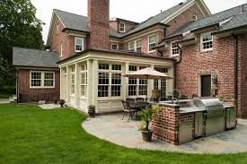 Classic Colonial House Plans Classic Scarsdale Brick Colonial House Plans 14982
