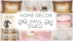home decor haul part 2 homegoods u0026 tj maxx youtube