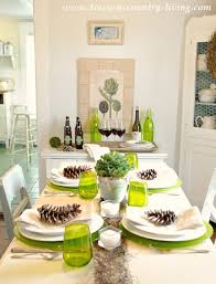 modern country table setting town country living creative of