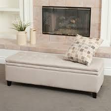 best selling home decor brighton linen storage ottoman lowe u0027s canada