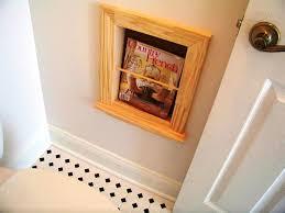Bathroom Wall Magazine Rack Wall Mounted Bathroom Magazine Rack U2014 Jen U0026 Joes Design