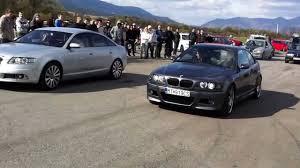 Audi A 6 2003 Audi A6 2005 3 0 Tdi Quattro Vs Bmw E46 M3 2003 Smg Youtube
