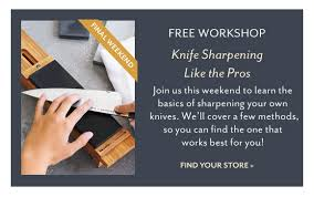 sur la table knife sharpening free sur la table price cuts up to 50 off wusthof knives milled