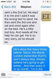 heard text messages to johnny depp s assistant from 2014