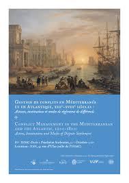 bureau des hypoth鑷ues mediterranean reconfigurations intercultural trade commercial