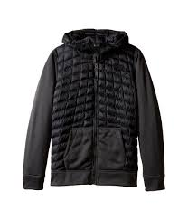 Big Men Clothing Stores The North Face Kids Glacier Full Zip Hoodie Little Big Honor Blue