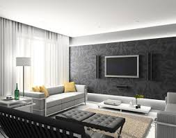 Modern Chic Home Decor Pictures Of Wallpaper For Living Room Modern Prepossessing