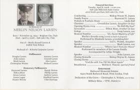 programs for funeral services funeral program and obituary
