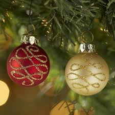 And Gold Glass Ornaments Mini Glass Ornament Set Gold Swirl Already Account