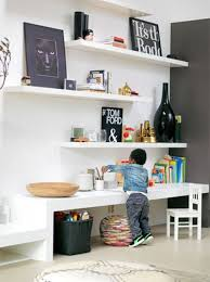 living spaces kids desk creating a desk work craft space for kids in living room along