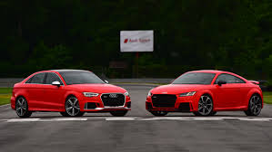 in pictures the audi tt rs and rs3 run free at lime rock park