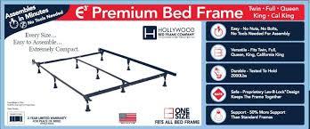 amazon com hollywood bed frames e3 premium bed frame kitchen