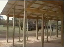 How To Build A Pole Barn Plans For Free by Horse Barn Stalls Design And Dimensions Youtube