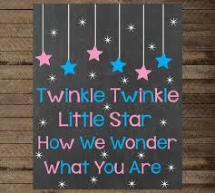 gender reveal announcements gender reveal sign twinkle twinkle gender reveal