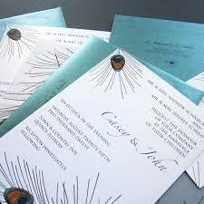 wedding invitations quincy il peacock wedding invitationsa7 peacock themed wedding invitations