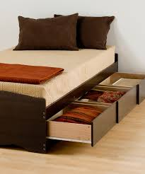 twin platform storage bed 32 xl twin bed with storage prepac brown xl twin platform storage