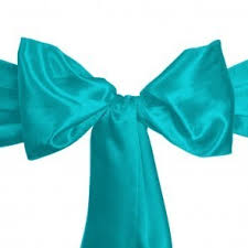 turquoise chair sashes chair sash rentals south florida linen rental