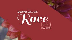 july 2016 color of the month rave red sherwin williams youtube
