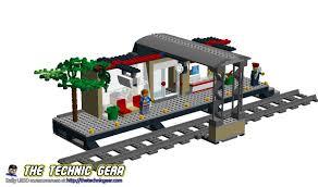 moc lego city 60050 train station lego reviews u0026 videos