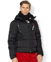 polo ralph lauren black friday polo ralph lauren rlx quilted down jacket in black for men lyst
