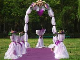 wedding arches using tulle lighted arch with tulle self serve wedding rentals
