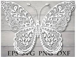 mandala butterfly svg zentangle butterfly svg butterfly