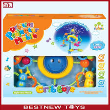 abs baby musical mobile toys custom baby crib hanging toy