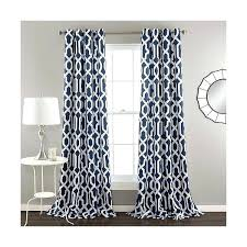 Blue And White Floral Curtains Blue And White Floral Window Curtains Muarju Me