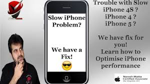 slow iphone fix learn how to optimize iphone performance youtube