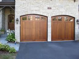 double car garage door size