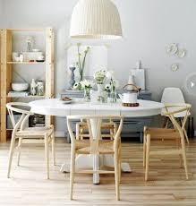 grey wall color with bamboo floor for inexpensive dining room