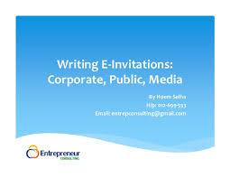 e invitations writing e invitations