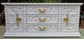 70s Bedroom Furniture Bedroom Set Ornate Hollywood Regency Carved 70s Dresser Onlu