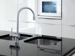 Solid Surface Kitchen Countertops White Solid Countertop Cabinets And Drawers Gray Electric Cooktop