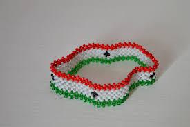 British Somaliland Flag Maasai Beaded Somaliland Flag Bracelet African Masai