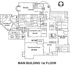 Floor Plan Abbreviations by Main Building Arapahoe