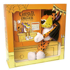 halloween photo book cheetos chester on the dresser halloween book with chester cheetah