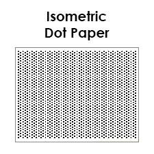 printable isometric paper a4 isometric dot paper pdf