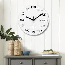 online get cheap math wall clocks aliexpress com alibaba group