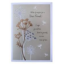 sympathy card hallmark sympathy card for friend words of comfort medium