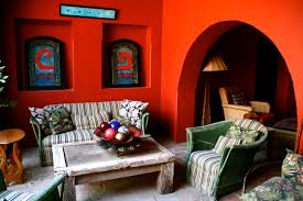 Information About Interior Designer Interior Home Shelves Imanada Orange Wall Paint Schemes With