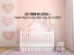 Baby Nursery Collection Vinyl Wall Decor