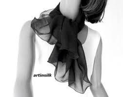 small white scarf square neck scarf petite white scarf pure