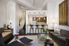 Interior Decoration In Living Room Loft Style Apartment Design In New York Idesignarch Interior