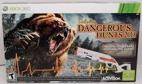 new 2 gun bundle xbox 360 cabela u0027s dangerous hunts 2013 hunting