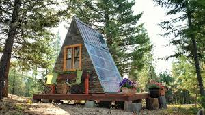 A Frame House Pictures Tiny House Town A Frame Cabin That Cost Just 700 To Build
