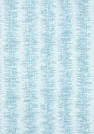 Indoor Outdoor Fabric For Upholstery Danube Ikat Stripe Aqua W80541 Collection Oasis From Thibaut