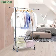 clothing backpack storage racks wall mounted hanging garment